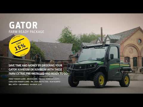 John Deere | Gator XUV865M Farm Ready Package