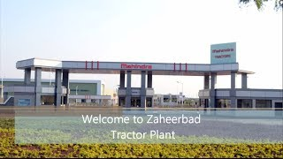 Mahindra Tractor Manufacturing Facility - Asia's biggest plant