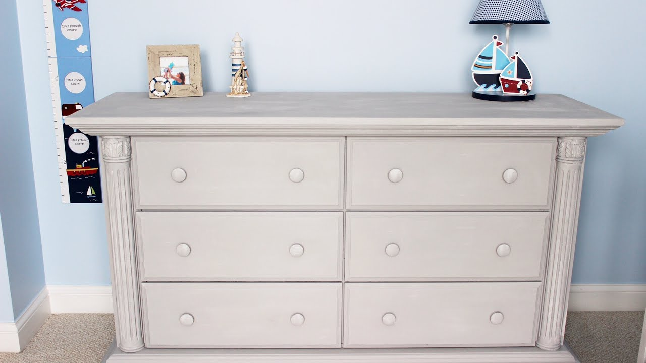 Chalk Paint Dresser Youtube