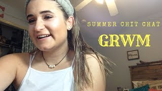 Summer GRWM 2018 / summer plans, college classes, and work // Camsglam