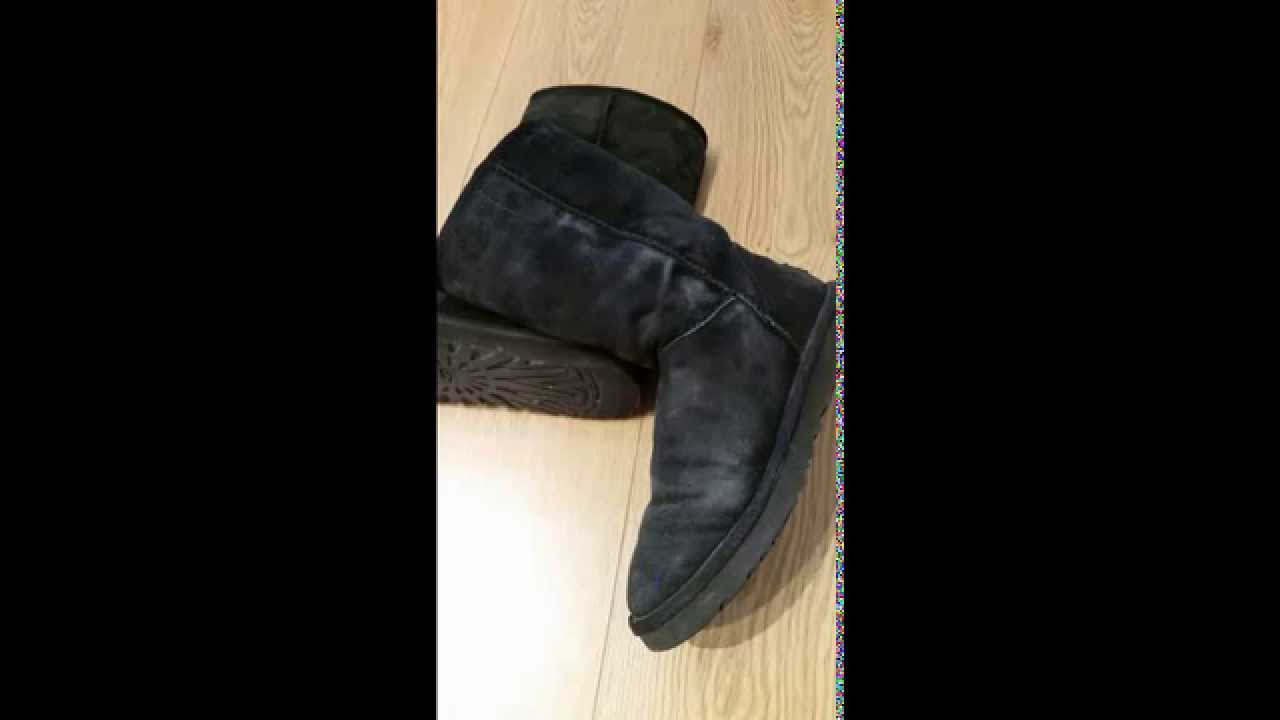 Revive Dye Worn Old Ugg Boots No Water Quick And Easy