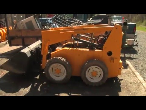 Sold The Mustang 1200 Skid Steer