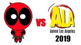 Deadpool vs Anime Los Angeles 2019