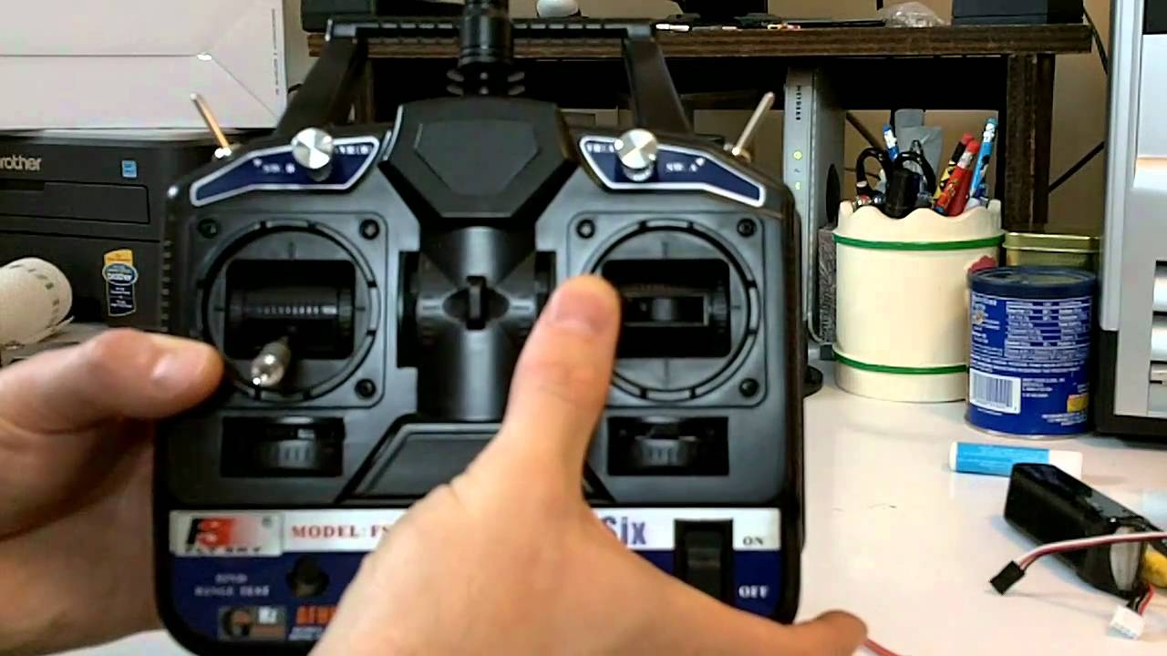 Flysky Fly Sky Ct6b 24ghz 6ch Rc Tx Rx Transmitter Receiver Naza V2 Wiring Diagram Review Youtube