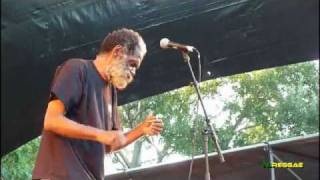 "JUNIOR BYLES ""A Place Called Africa ~ Da Da"" Garance Reggae Festival 2010"