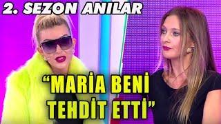 Nazlı Hamarat'tan Şok İddia: Maria Beni Tehdit Etti!