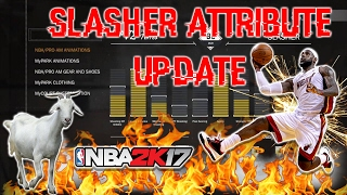 6'6 SLASHER ATTRIBUTE UPDATE | CRAZY POSTERIZER DUNKS | CAN SHOOT | *PATCH 12* | NBA 2K17
