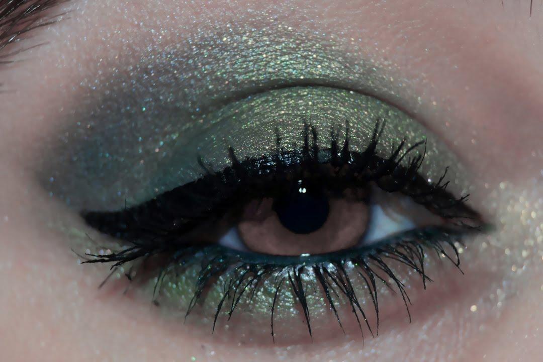 maquillaje tonos verdes para ojos