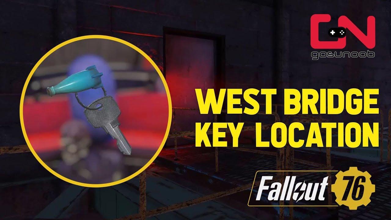 Fallout 76 - West Bridge Key Location