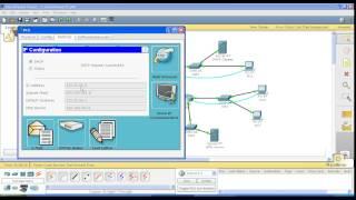 Курс Cisco, Routing and Switching. Шаг 12 Настройка DHCP сервера на маршрутизаторе Cisco