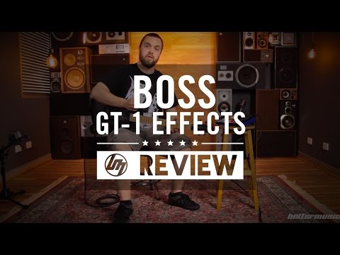 Boss GT-1 Guitar Effects Processor Review | Better Music