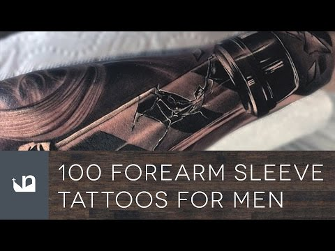 100 Forearm Sleeve Tattoos For Men