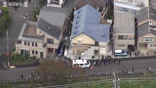 座間死体遺棄:アパートに9遺体、容疑の27歳男を逮捕