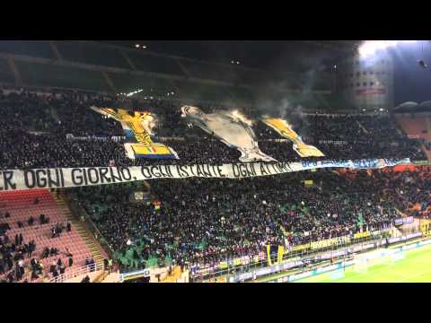 Jose Mourinho Inter Tifo. Feb 20, 2016