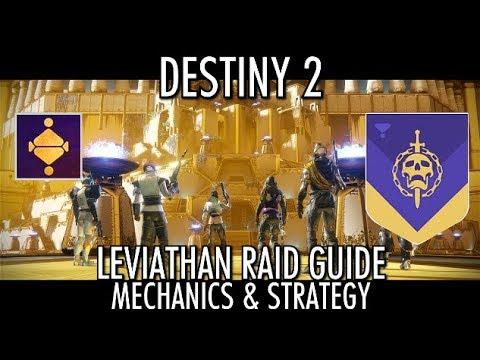 Destiny 2 Raid Guide - Leviathan Raid Mechanics & Strategy - Complete Walkthrough