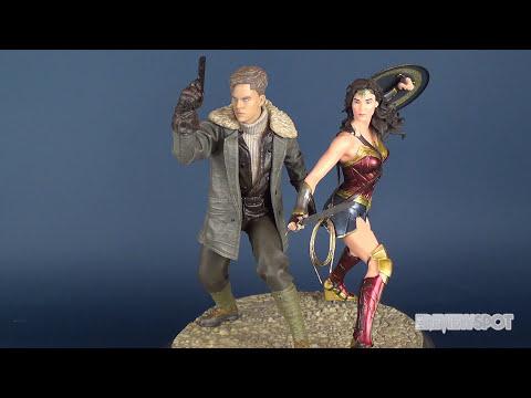 Collectible Spot | DC Collectibles Wonder Woman & Steve Trevor Statue