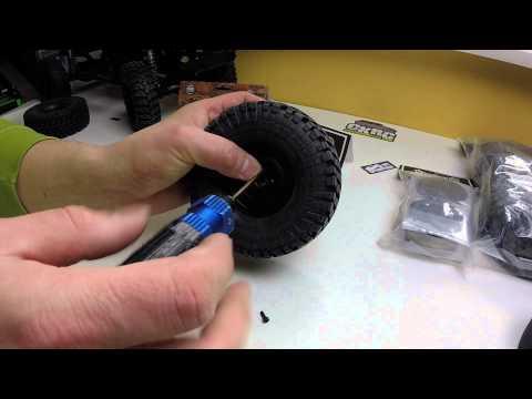 RC Nennox - Pitbull tires Growler 1.9 & Gmade 1.9 SR03 beadlock wheels