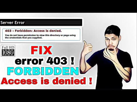FIX THE ERROR 403 FORBIDDEN ERROR | SERVER ERROR | PROXY ERROR | TECH TRICKS™
