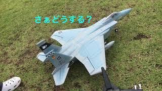 ラジコン飛行機 仲間のF-15