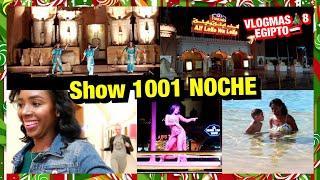 VLOGMAS🎄8   CÓMO BAILAN LOS EGIPCIOS, SHOW 1001 NOCHE + DONDE ESTÁ ANGELINA? 8 Dic 2018