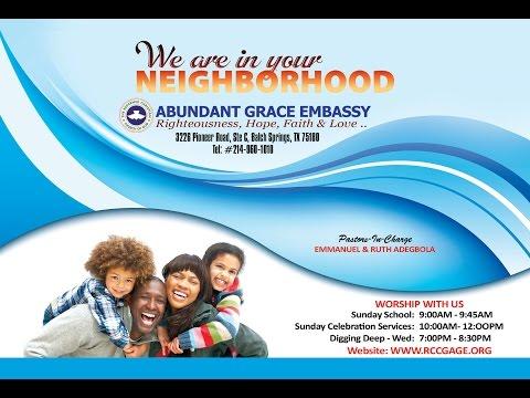 RCCG Parish in Dallas TX   Abundant Grace Embassy Tel 214-960-1010