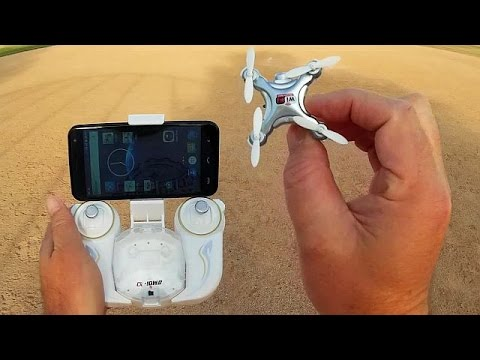 Cheerson CX-10WD Altitude Hold FPV Nano Camera Drone Flight Test Review