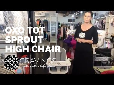 OXO Tot Sprout High Chair by CRAVINGS
