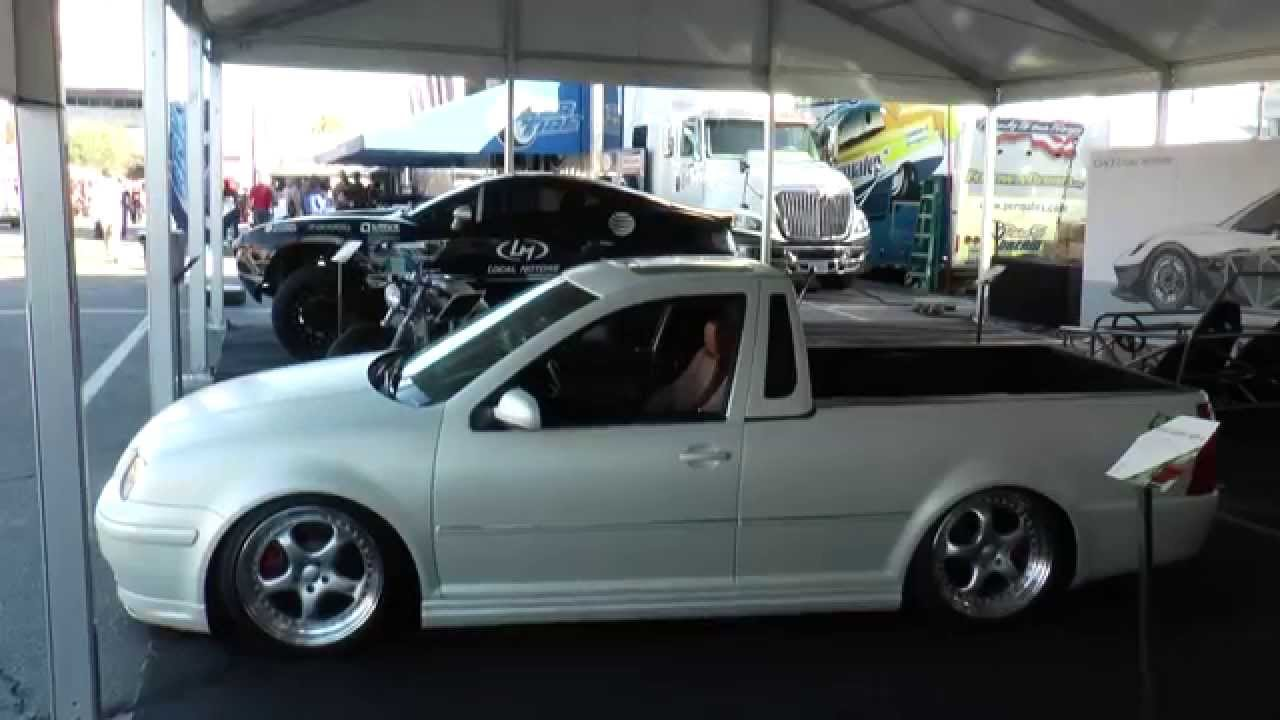 VW Jetta Pickup Truck by Smyth - Local Motors/SEMA 2014 - YouTube