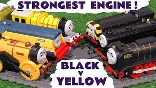 Thomas & Friends Strongest and Fastest Engine Competition with funny Funlings TT4U