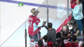 Kyle Turris OT game winner goal. NY Rangers vs Ottawa Senators. 4/18/12 NHL Hockey