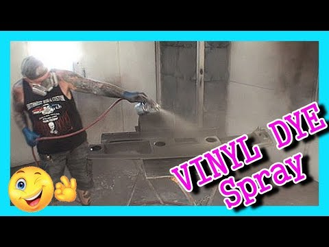 How To Paint Plastic Interior Car Parts With Vinyl Dye : Made Easy