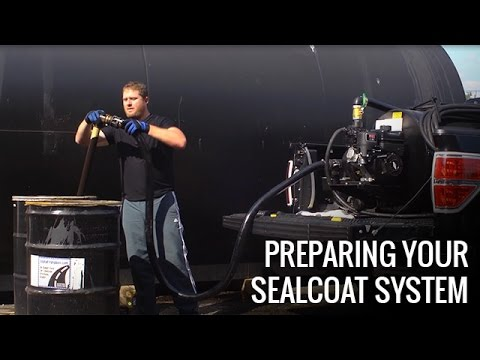 How To Get Your Sealcoating System Ready | Asphalt Kingdom