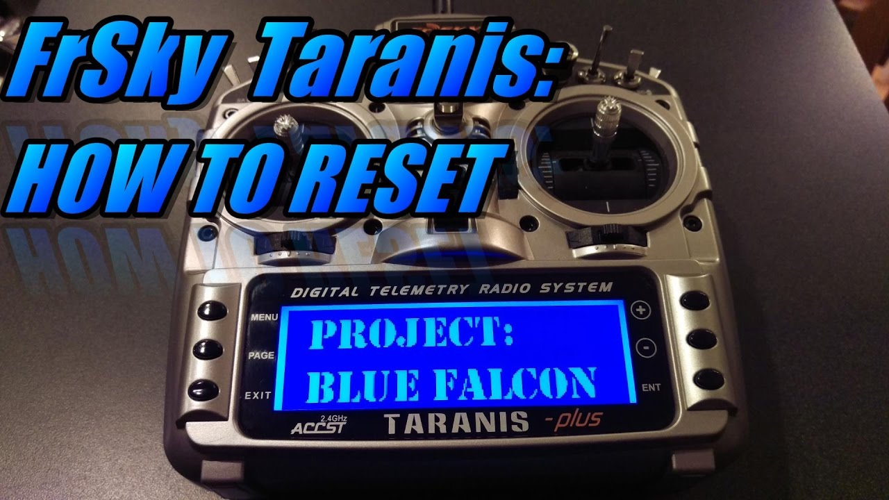 Got my Taranis QX7 in, so quite happy, but messed up already