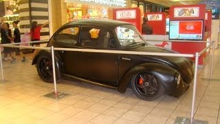 VW Beetle with Mazda Rotary Engine - Flower Power 5 Plaza Las Americas