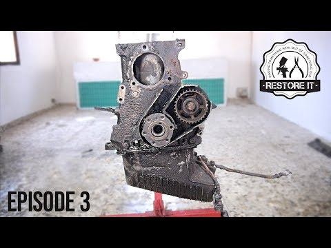 BMW E30 M20B25 Engine Rebuild Restoration - Time-Lapse | Part 3
