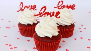 Red Velvet Cupcakes  Eggless