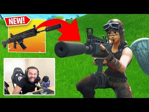 I KILLED TSM HAMLINZ with the *NEW* SILENCED SCAR!