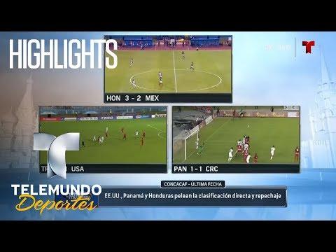Highlights: Cómo narrar 3 juegos simultáneos: nivel Dios | Rumbo al Mundial Rusia 2018 | Telemundo