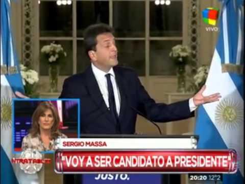 Sergio Massa: Voy a ser presidente de los argentinos