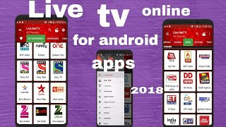 how can i watch live tv online whole world channel for free in android new app 2018