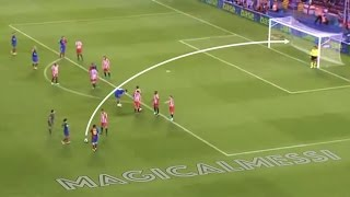 Lionel Messi - 15 Impossible Goals Where The Goalkeeper Could Not Do Anything - HD
