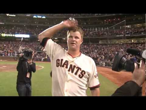 Matt Cain throws a Perfect Game against the Astros, raw footage (6/13/12)