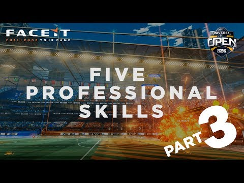 5 Pro Rocket League Skills with G2 eSports | Universal Open Series PART 3