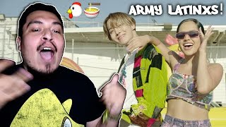 Gambar cover J-Hope 'Chicken Noodle Soup (feat. Becky G)' MV REACTION