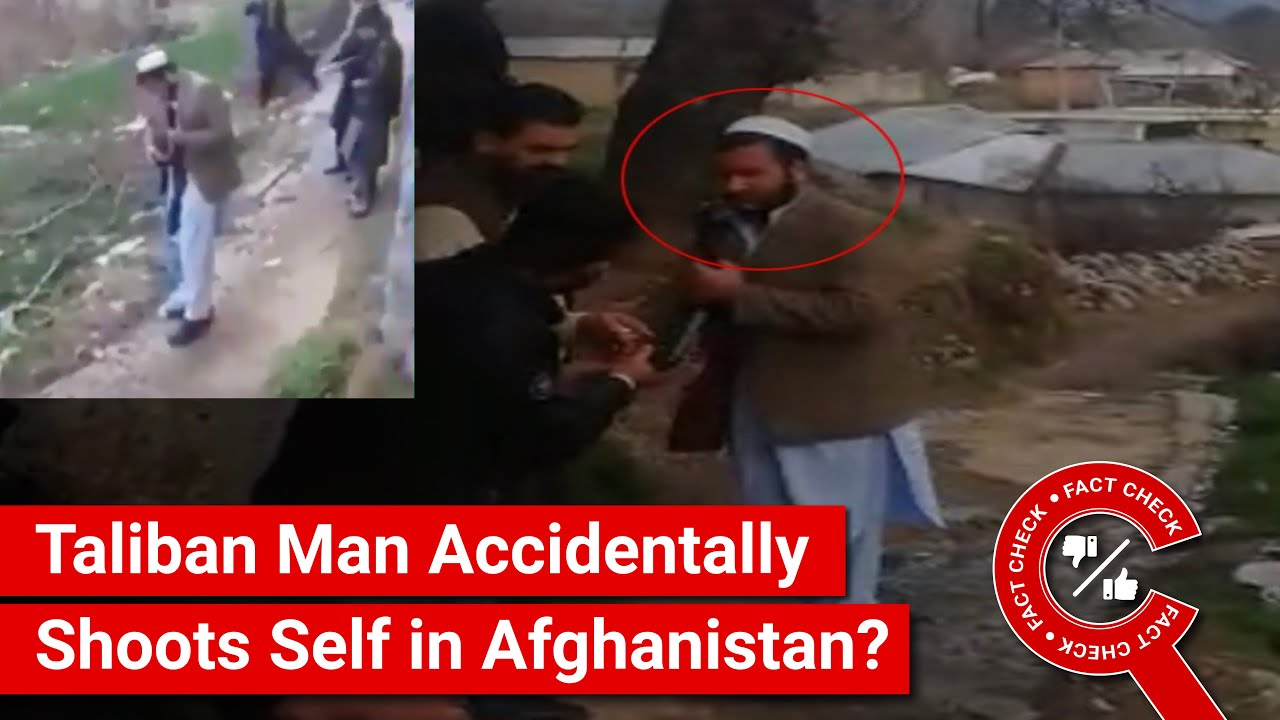 Fact check: Video shows Taliban fighter attached to helicopter, not ...