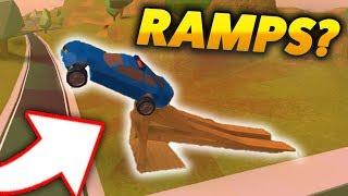 NEW RAMPS IN ROBLOX JAILBREAK!