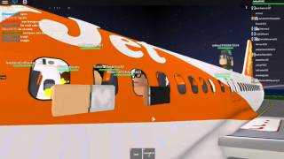 ROBLOX easyJet Airbus A319 Flight