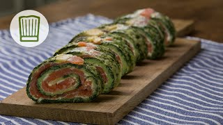 Lachs-Spinat-Rolle Rezept #chefkoch