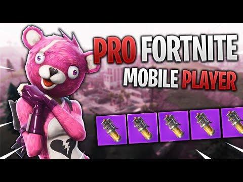 PRO FORTNITE MOBILE PLAYER // 290+ Wins // Fortnite Mobile ...