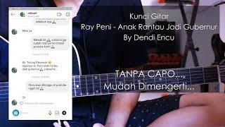 kunci gitar Ray Peni - Anak Rantau Jadi Gubernur